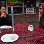 Inspired by the pizza, Bret and I reminisce about foods we loved as kids.