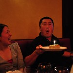 Because it was Matt's birthday - his NYC birthday, anyway (we won't be able to celebrate with him in CA)