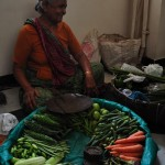 The veggie woman