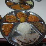 I orderd this massive thali dinner at Chandan Shree in Jaisalmer.
