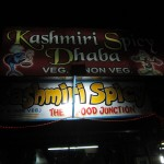 Kashmiri Spice Dhaba: total dive but tasty food